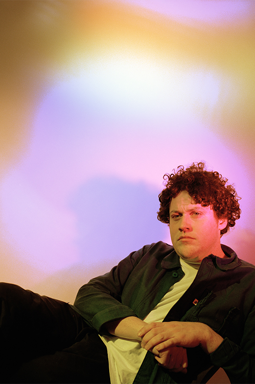 Metronomy's Joe Mount for Crack Magazine by Henry Gorse