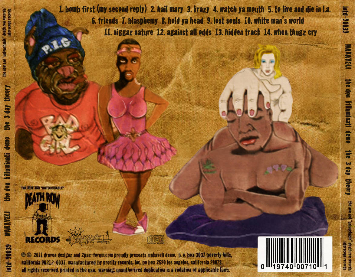 7 Day Theory – original artwork featuring Biggie and Puff Daddy